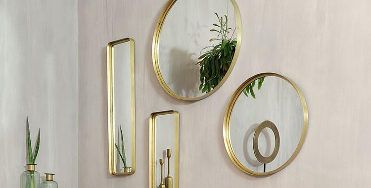 Miroirs tendance - Magasins de décoration - Hémisphère Sud