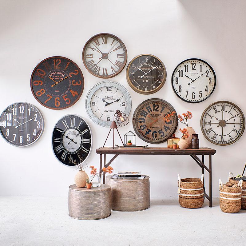 Déco murale horloges Hémisphère Sud