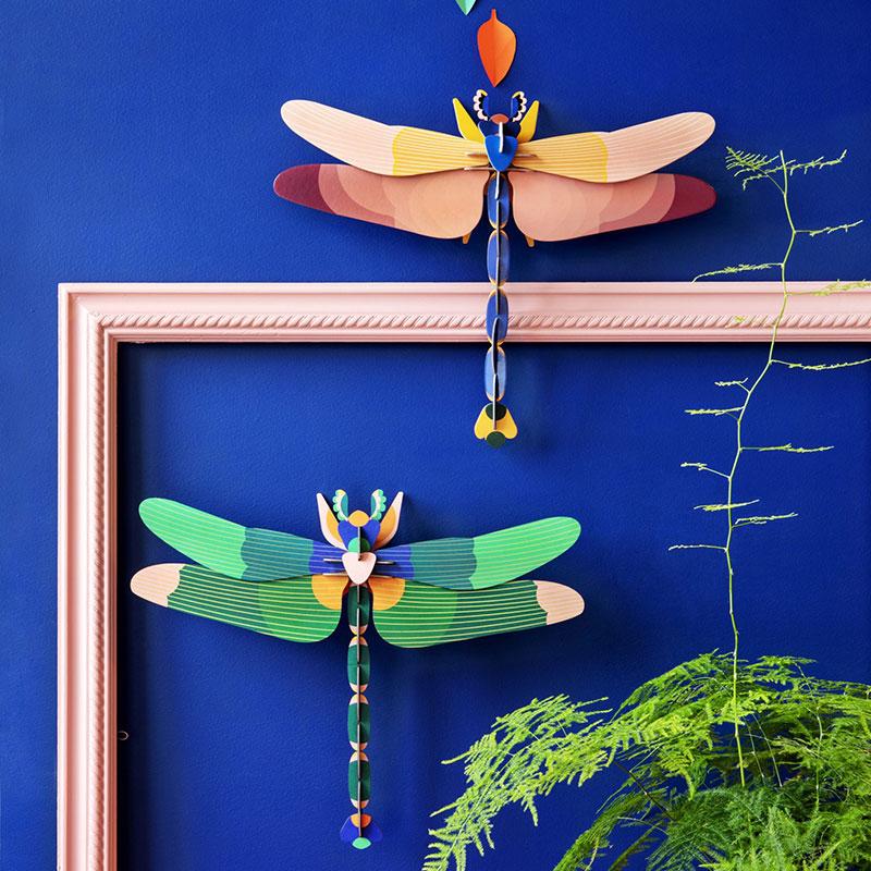 Décoration murale originale libellules Hémisphère Sud