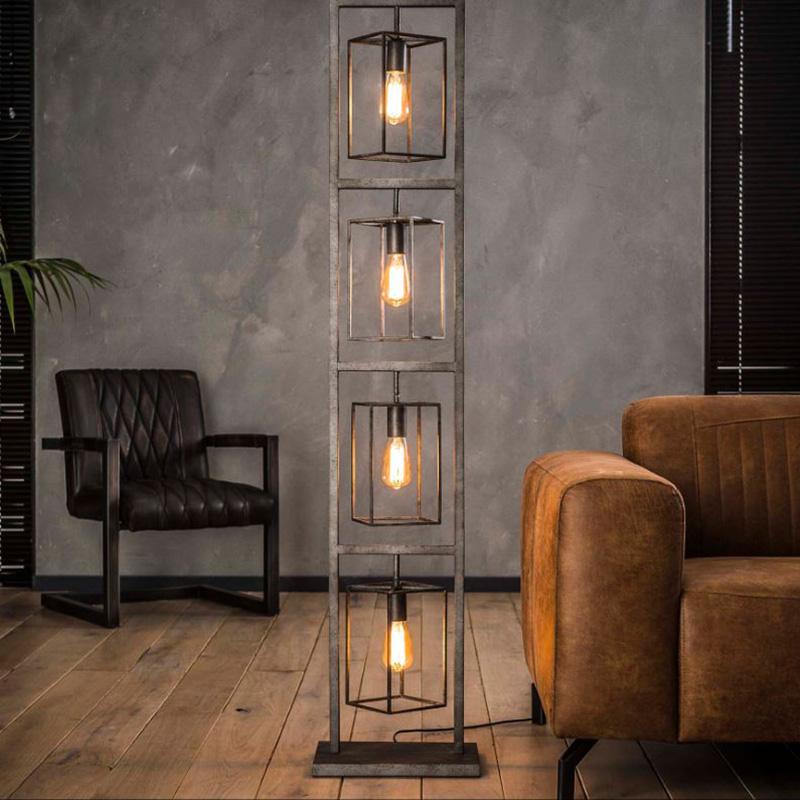 Lampadaire ampoules vintage Hémisphère Sud