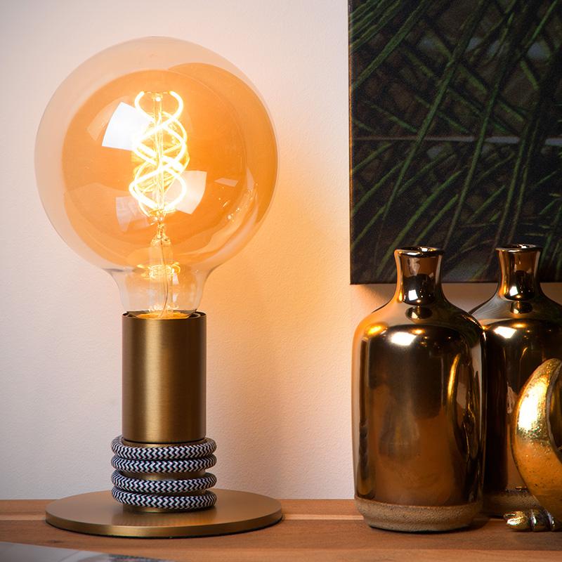 Lampe ampoule vintage Hémisphère Sud