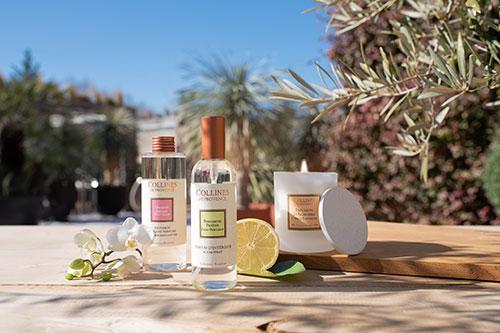 Parfums d'intérieur estivaux Hémisphère Sud
