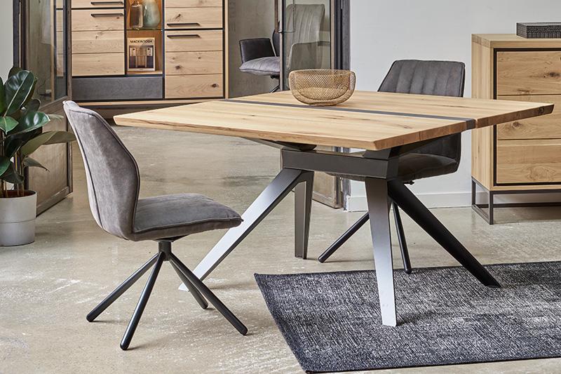 Table en bois et métal BROOKS Hémisphère Sud