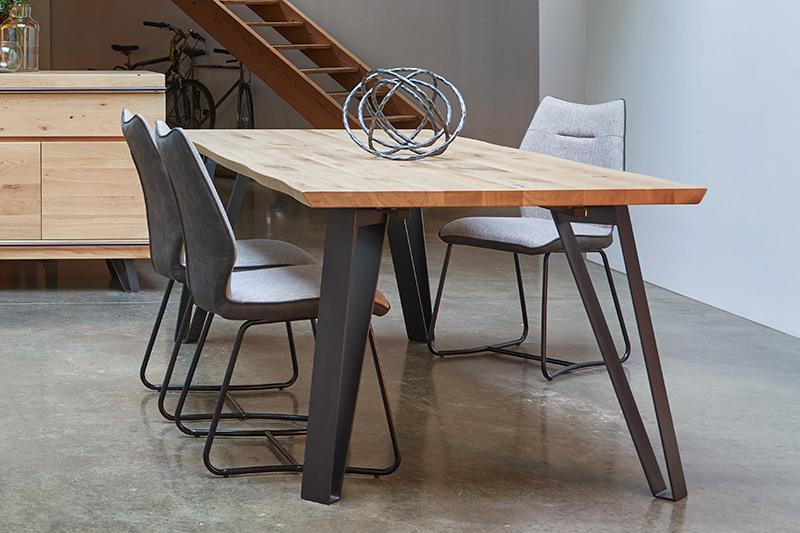 Table en bois et métal FUSION Hémisphère Sud