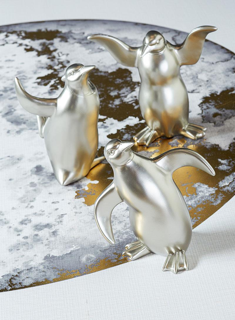 Décoration Noël Hémisphère Sud pingouins