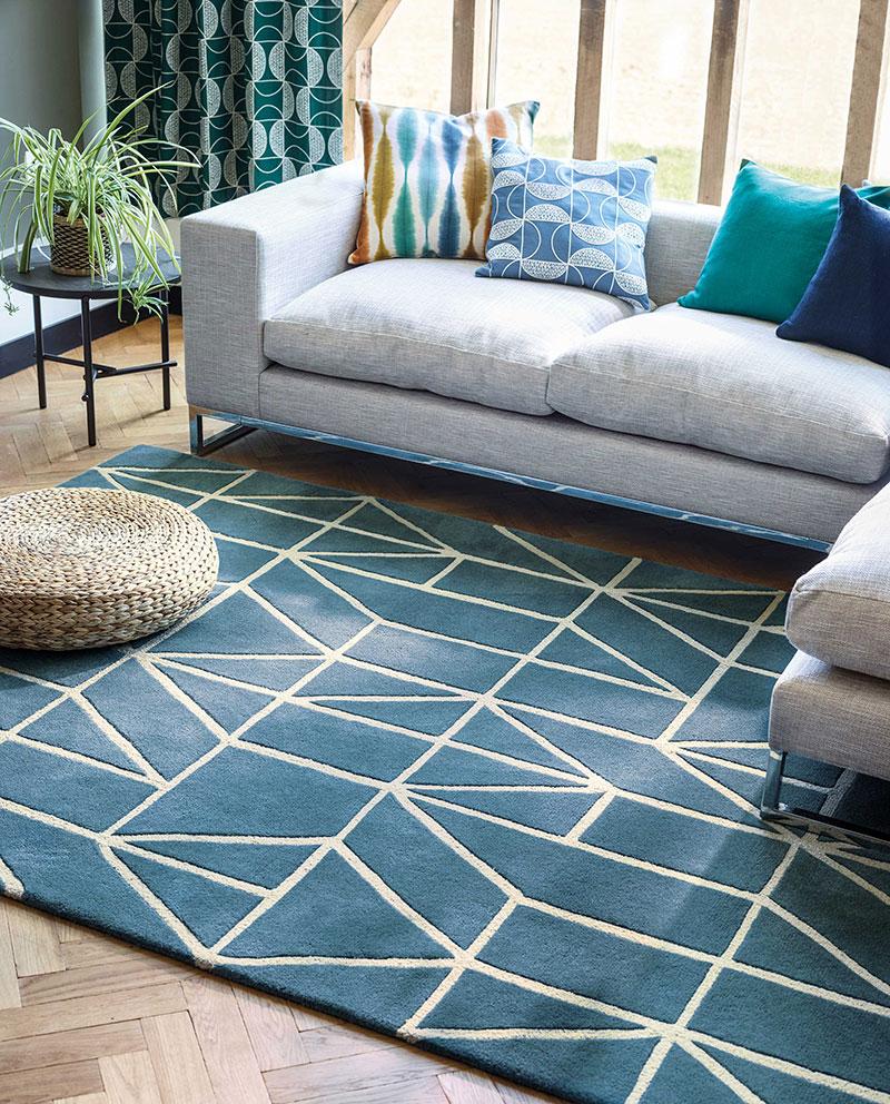Déco salon : comment positionner son tapis pour un plus bel effet ?
