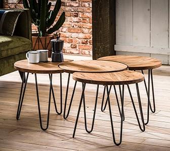 Petit espace : adoptez une table basse qui ne prend pas de place !
